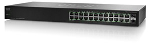 Picture of SR2024T Linksys by Cisco SG 100-24 | Wireless Routers | Linksys