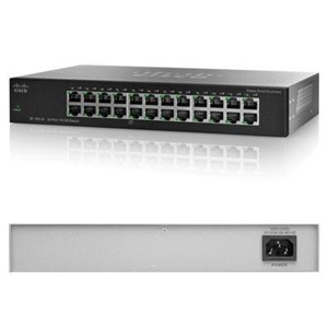 Picture of SR224T Linksys by Cisco SF-100-24 | Wireless Routers | Linksys